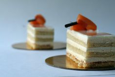 Daring Bakers: Apricot, Passion Fruit and White Chocolate Opera :: Cannelle et Vanille