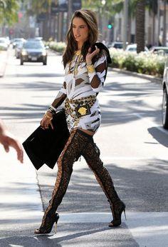 Alessandra Ambrosio for Chanel's latest campaign. She looks phenomenal!