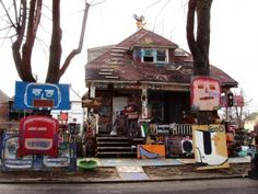 The Heidelberg Project – Historic Art Environment and Cultural Village, Potential Economic Engine for the City of Detroit