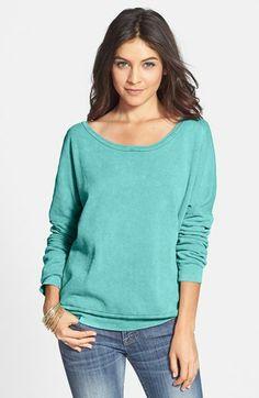 Rubbish® Fleece Sweatshirt (Juniors) available at #Nordstrom