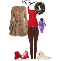 The Tenth Doctor - Casual Female Style, created by enzyyme on Polyvore