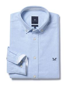 Buy our Men's Dunham Oxford Shirt for £55 available in Sky at Crew Clothing. For more shirts, visit Crew Clothing.