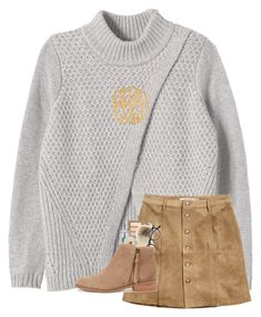 """""""went ice skating last night!"""" by sarenaaaseeger ❤ liked on Polyvore featuring Rebecca Taylor, H&M, Urban Decay, Moscot, WALL, Miss Selfridge, Sole Society and Jennifer Zeuner"""
