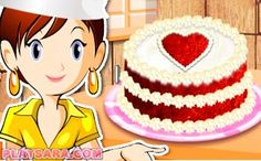 Learn more about a fascinating collection of Sara\'s Cooking Class games: more than 100 games for girls available online. Scones, Sara's Cooking Class, Red Velvet, Velvet Cake, Class Games, Games For Girls, Online Games, Princess Peach, Chicken Lasagna