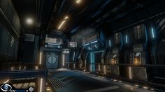What Are You Working On? 2014 Edition - Page 59 - Polycount Forum Futuristic Interior, Corridor, Science Fiction, Sci Fi, Environment, 3d, Nasa, Image, Interiors