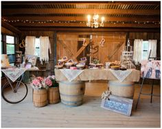 Classic Country Wedding  Sweets
