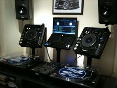 Dj Setup Studio Turntable The Mixers Jay