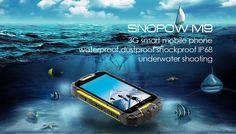 Snopow M9  3G smart mobile phone waterproof, dustproof and shockproof IP 68 underwater shooting.