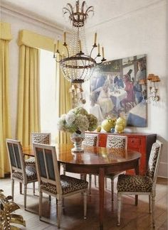Quintessential New Orleans Dining Room