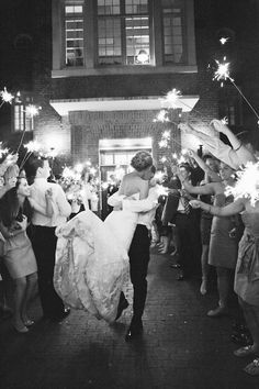 sparkler exit | Love, The Nelsons #wedding