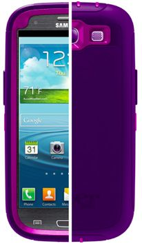 Otterbox Defender case for Samsung Galaxy S3 -- Love the bright colors!