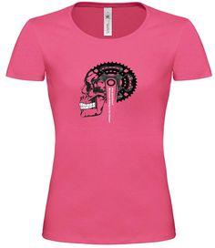 Women's Mountain Bike T Shirt  Women's Bicycle by CycloDesignShirt