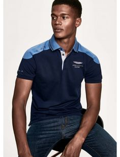 Polo Rugby Shirt, Polo T Shirts, Collar Shirts, Polo Shirt Design, Polo Design, Camisa Polo, Casual Wear For Men, Golf Outfit, Shirt Designs