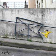 19 novas artes de rua criadas por OaKoAk!Zupi
