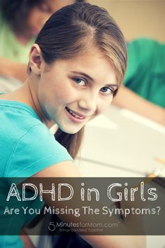 ADHD in Girls - Are You Missing The Symptoms? Girls with ADHD are misunderstood and under-diagnosed compared to boys who often present more noticeable symptoms of hyperactivity or disruptive behaviour. A recent survey reveals how significant the gap of ADHD understanding and awareness actually is amongst teachers, health care professionals and parents. I interviewed Dr. Patricia Quinn, developmental pediatrician, ADHD researcher and author about the survey results.