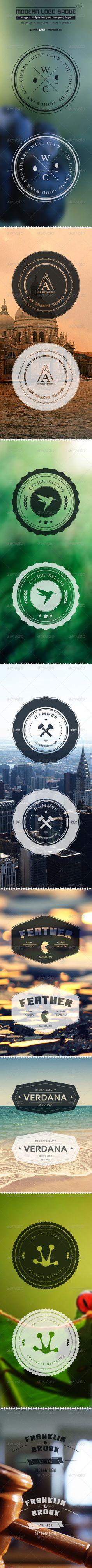 #logo #badge #template #design