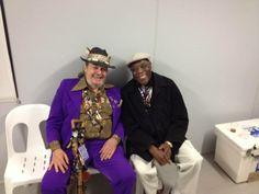 Dr. John & Buddy Guy at Byron Blues Fest