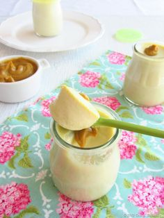 iogurte de pistachio