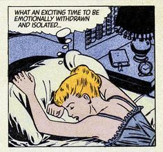 "15 Vintage Comics That Will Fill You With Existential Dread - Funny memes that ""GET IT"" and want you to too. Get the latest funniest memes and keep up what is going on in the meme-o-sphere. Marvel Girls, Comics Girls, Art Pop, Comic Books Art, Comic Art, Art Pulp Fiction, Comics Vintage, Funny Vintage, Vintage Pop Art"