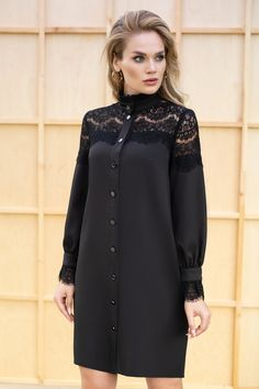 Luxurious black dress with lace – – мода Abaya Fashion, Modest Fashion, Fashion Dresses, Abaya Mode, Hijab Stile, Iranian Women Fashion, Sleeves Designs For Dresses, African Dress, Maternity Dresses