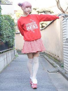 Asian Street Style, Tokyo Street Style, Japanese Street Fashion, Japan Street, Japanese Streets, Korean Fashion Dress, Fashion Wear, Cute Fashion, Asian Fashion