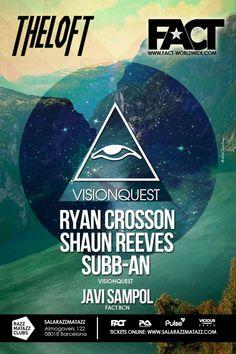 Visionquest Showcase feat. Ryan Crosson | Razzmatazz | Barcelona | https://beatguide.me/barcelona/event/razzmatazz-fact-presents-visionquest-showcase-20131004/poster/