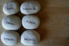 How To Engrave Words Into Rocks