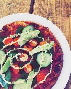 Æggepizza 🙄🤔👌😏😋 #sund #fit #æg #pizza #omelett #diet #ägg #avokado #Fitfamdk