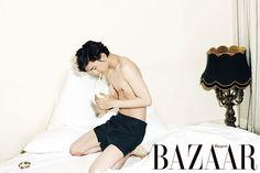 Sung Joon Dives Into A Bubble Bath