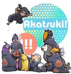 Mackerel (Artist), NARUTO, Uchiha Itachi, Pein, Tobi, Hoshigaki Kisame