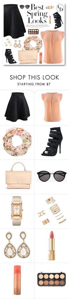 """""""Best Spring Look"""" by sabinakopic ❤ liked on Polyvore featuring H&M, New Look, Givenchy, Yves Saint Laurent, Patek Philippe, Forever 21, Dolce&Gabbana, LoveIt, loveluxury and LUXURYDIVAS"""