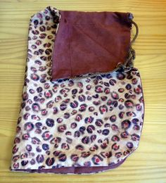 Reversible Leopard Print / Double Brown Bass by LadyBassMusic