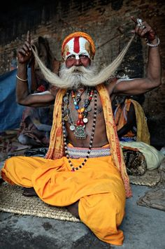 """SADHU ---------------  """"Those who dwell among the beauties and mysteries of the Earth are never alone or weary of life."""" -Rachel Carson"""