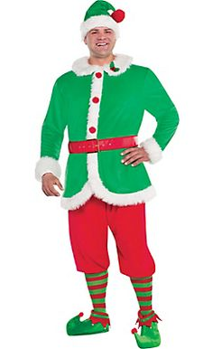 Adult North Pole Elf Costume