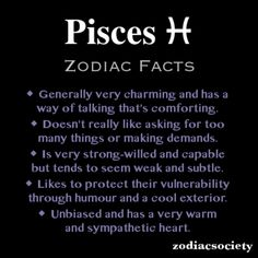 Pisces Zodiac Facts, My Honey is a Pisces