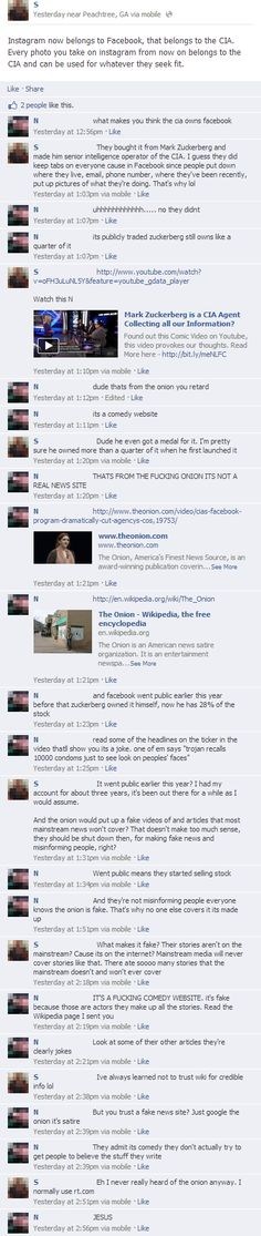 The 35 Best Times Someone On Facebook Thought 'The Onion' Was Real | News-Hound