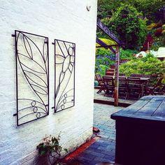 Garden Trellis Dragonfly Style, Garden Design, Handmade Blacksmith