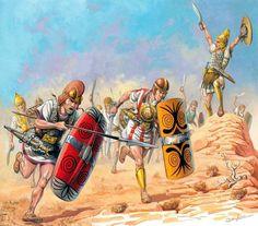 La Pintura y la Guerra. Sursumkorda in memoriam Ancient Rome, Ancient Art, Ancient History, Carthage, Military Art, Military History, Punic Wars, Roman Soldiers, Roman History