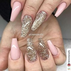 by @kimmienails:Pink nude & mixed glitter#naglar #nagelkär #nagelteknolog #naglarstockholm #nagelförlängning #uvgele #gele #gelenaglar #gelnails #nails #nailart #nailswag #lillynails #nailfashion #nailpassion #nailobession #nailextensions #dopenails #blingnails #love #kimmienails #hudabeauty#wedding#allpowder#blingnailaddict #nailfashion #أظافر #ネイル#lacenails#handdrawing#allacrylic