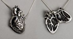 That's a heart necklace I would wear