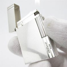 S. T. Dupont Lighter  Silver Pin Strip by STUNNINGCOLLECTIBLES