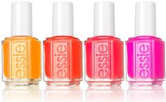 Essie Poppy-Razzi Collection: http://beautyeditor.ca/2012/06/28/new-in-nails-5-spectacularly-summery-polish-collections-to-go-buy-now/