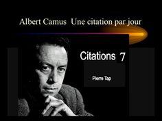 Albert Camus Citations 7 (Pierre Tap)