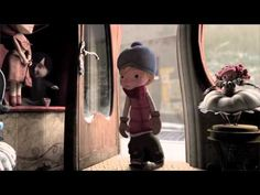 """Alma"" The beautiful, unnerving short film from Rodrigo Blaas, who produced this film in his spare time whilst also working on other Pixar projects. Video Halloween, Short Film Youtube, Creepy Gif, Pixar Shorts, Cool Animations, Great Videos, Great Stories, Stop Motion, Conte"