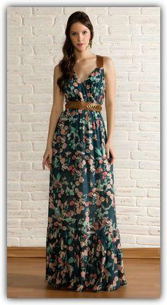 vestidos-de-fiesta-casuales-largos.jpg (615×1125)
