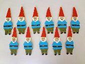 Garden gnome cookies