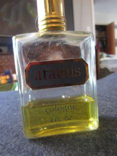 Vintage Aramis Cologne 4 oz. 1/3 full Men's Aftershave Kitschy