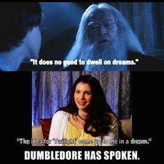 Dumbledore has spoken.