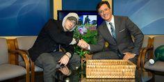 Stephen Colbert Interviewed A Baffled Eminem On Michigan Public Access TV Show - http://www.movienewsguide.com/stephen-colbert-interviewed-a-baffled-eminem-on-michigan-public-access-tv-show/72820