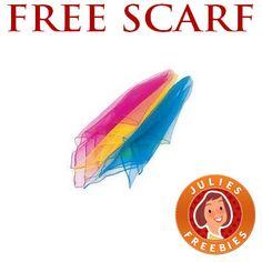 Free Chiffon Scarf